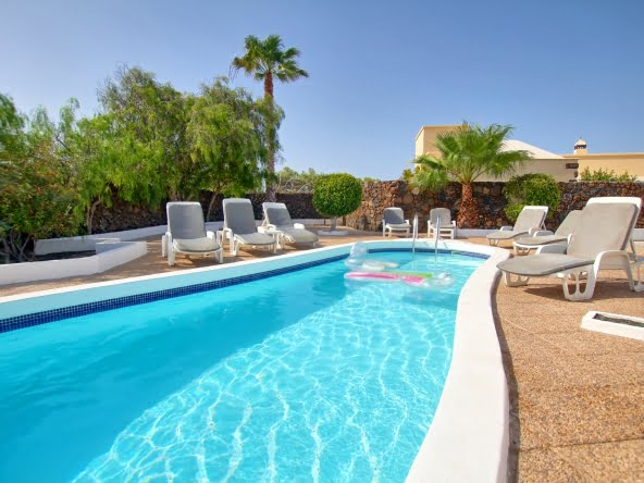 La Perla - 5 Bedroom Villa with 5 large Bathrooms. This spacious boutique villa can accommodate 10 guests.