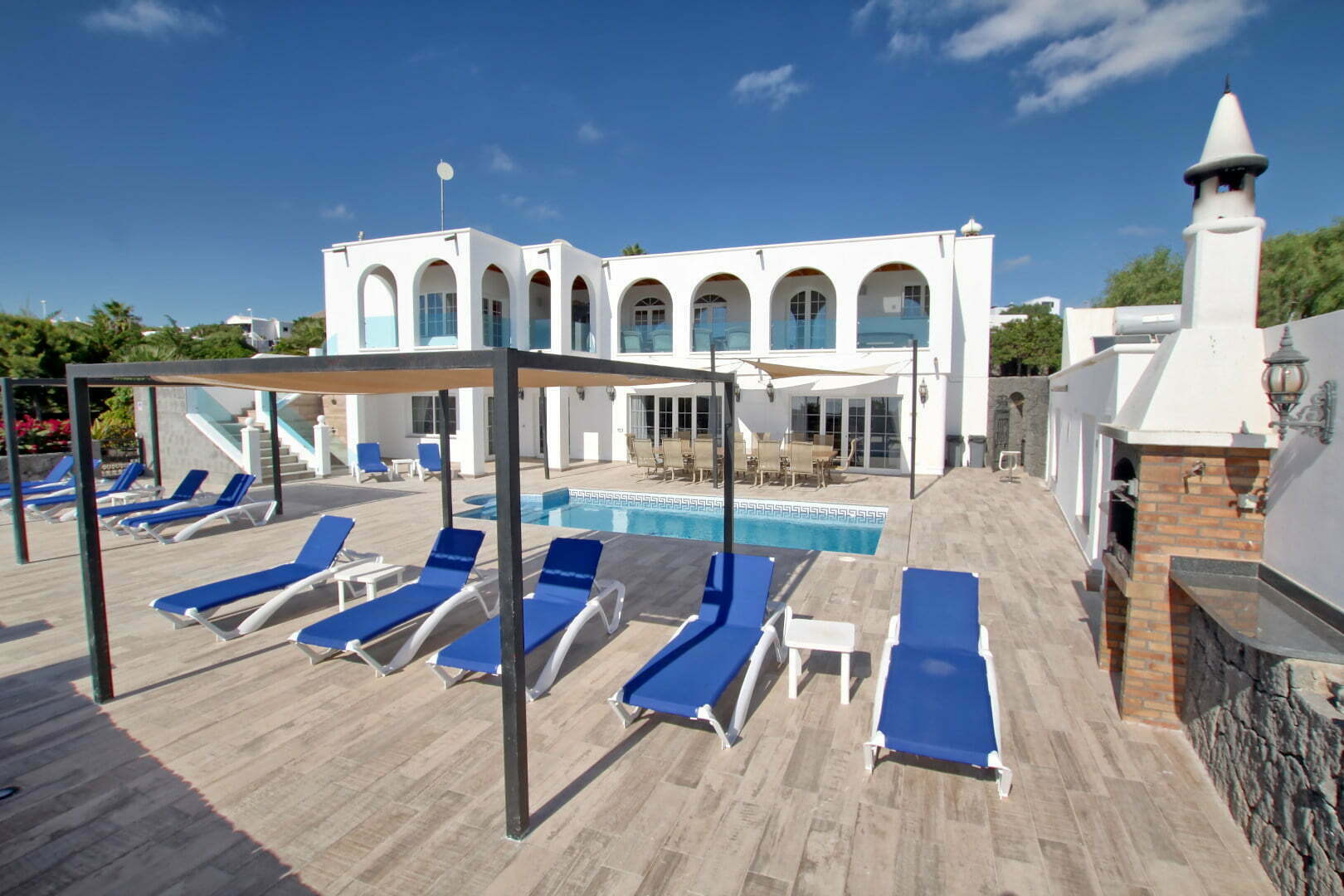 Villa El Palacete - Lanzarote - 9 Bedrooms - 9 Bathrooms - Holiday Rental - Best Villas Lanzarote