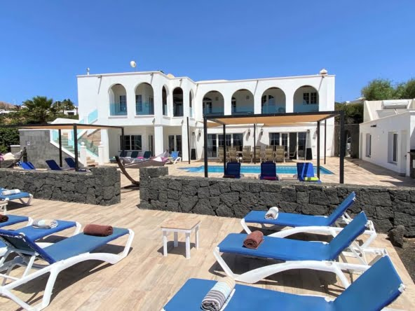 Villa El Palacete - Lanzarote - 9 Bedrooms - 9 Bathrooms - Holiday Rental - Best Villas in Lanzarote